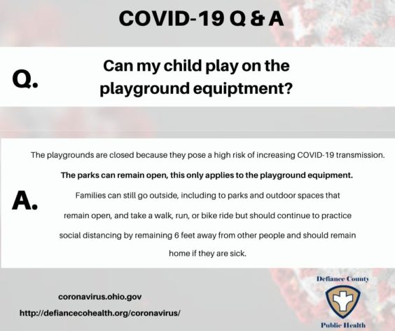 Can my child play on playground equipment_ Q&A